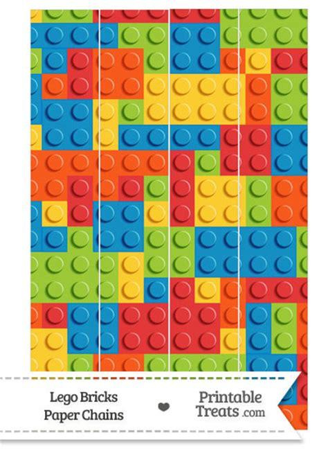 printable paper lego lego bricks paper chains https www pinterest com