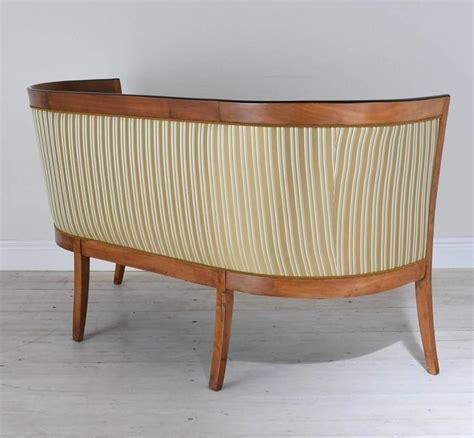 biedermeier settee austrian biedermeier settee or sofa in cherrywood circa
