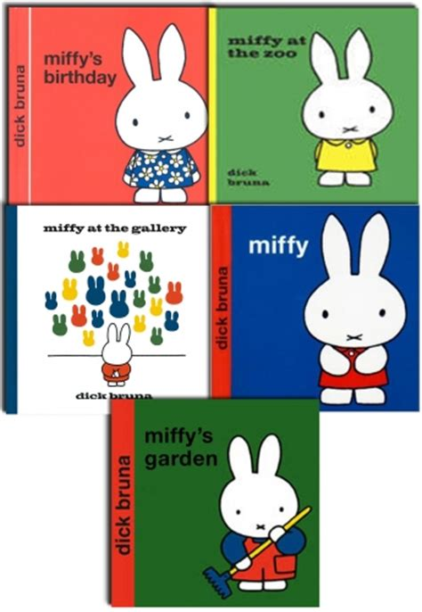 dick bruna new miffy classic library collection 5 books