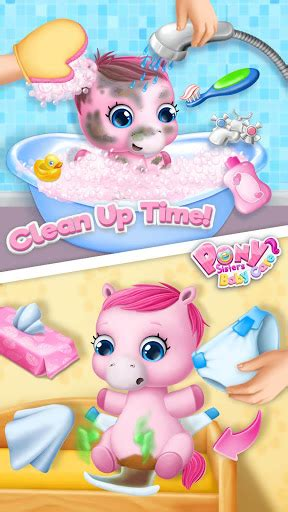 download image chincoteague pony and foal pc android iphone and ipad pony sisters baby horse care game apk free download for