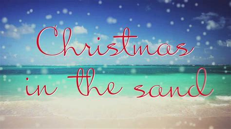 colbie caillat christmas   sand lyric video youtube