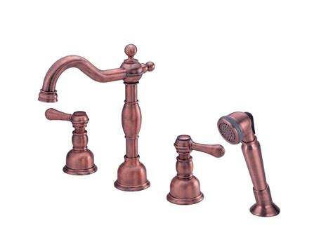 Danze Opulence Replacement Parts faucet d306757ac in antique copper by danze