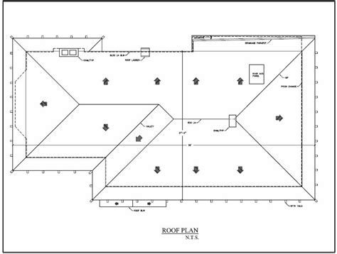 roof pattern drawing image gallery roof plans