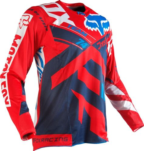 motocross jerseys 59 95 fox racing mens 360 divizion jersey 235455