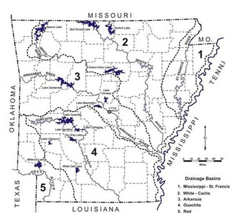 arkansas river map surface water