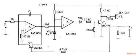 Transistor 2sa952 index 376 basic circuit circuit diagram seekic
