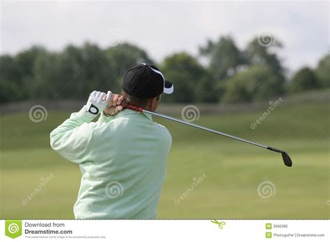 swing man golf man golf swing at practice stock photo image 2695380