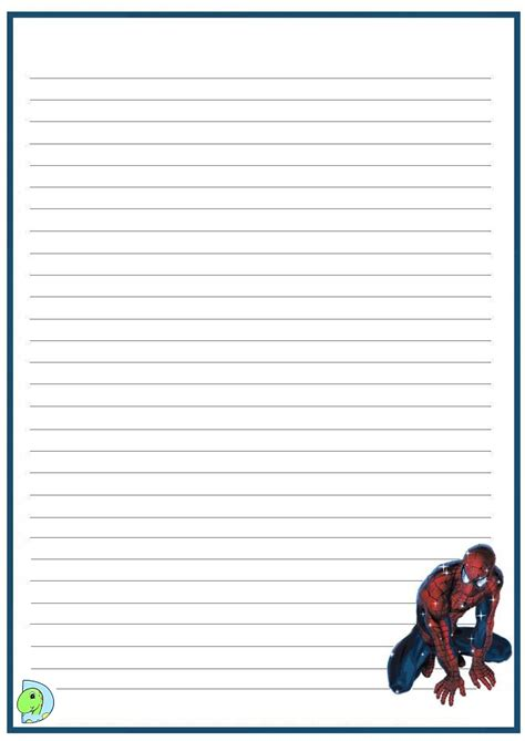 Writing Paper Spider Elementary Abcteach Search Results For Handwriting Paper Calendar 2015