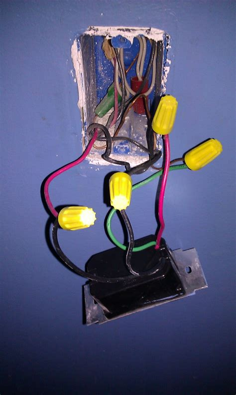 replace light switch with dimmer replace dimmer light switch wiring do it yourself