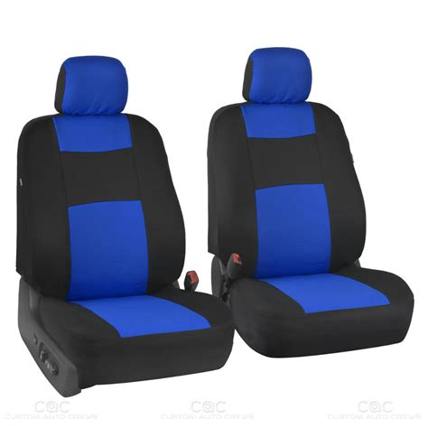 suv bench seat covers black blue seat cover set for car auto suv 9pc polyester
