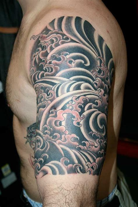 japanese half sleeve tattoos for men japanese half sleeve for