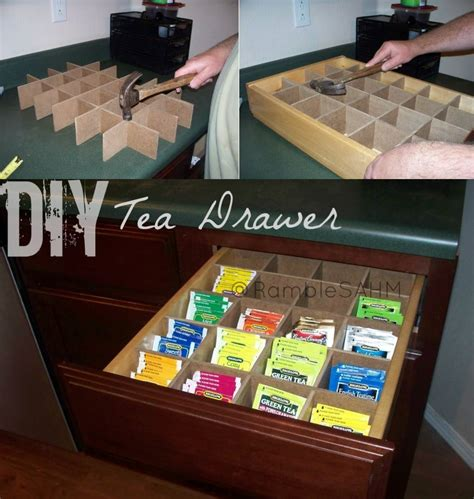 Tea Drawer by Drawer Organizing Tips That Keep The Mess At Bay
