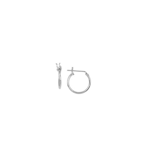 Boma Tiny Sterling Silver Hoops something silver boma small sterling silver hoops