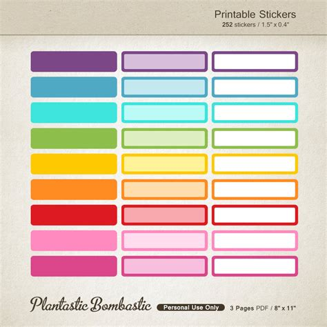 printable stickers for birthday list stickers appointment printable planner stickers birthday