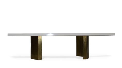 Modern Dining Table Base Modern Lacquered Dining Table Mecox Gardens