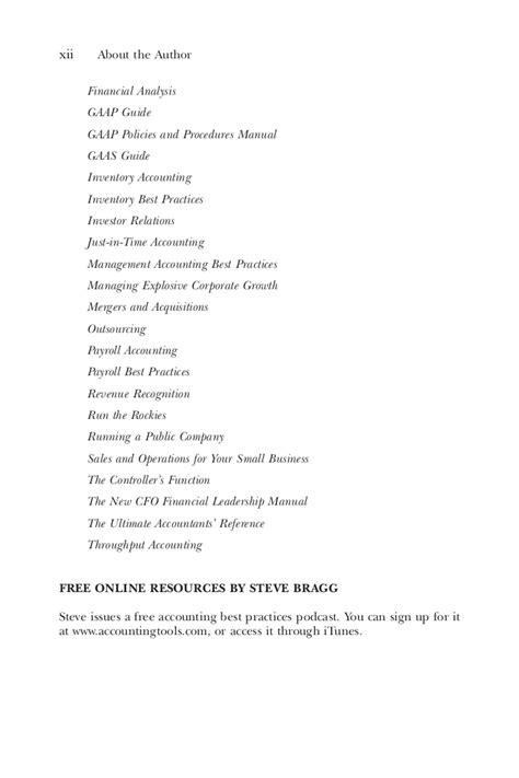 Steven M Bragg Treasury Management The Practit Book Fi Org