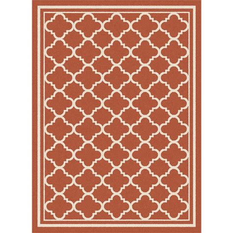 7 X 10 Outdoor Rug Tayse Rugs Garden City Terra 7 Ft 10 In X 10 Ft 3 In Transitional Area Rug Gct1011 Terra