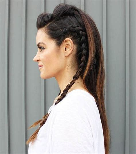 long hairstyles with volume poof on top 30 braided mohawk styles that turn heads