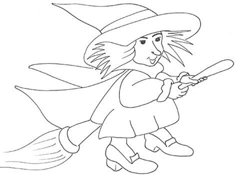 old befana colouring pages
