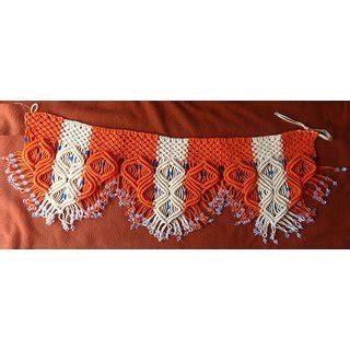 Handmade Toran - macrame toran handmade buy macrame toran handmade