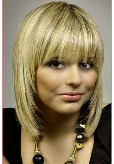 hairstyles for medium length hairstyles with bangs fine hair hairstyles