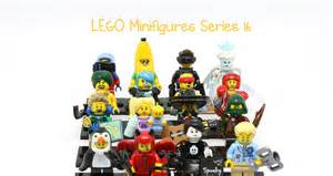 Blind Bag Reviews Review Lego Minifigures Series 16