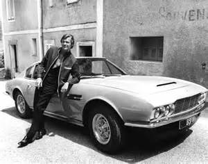 Roger Aston Martin Roger With The Aston Martin Dbs 169 Itv Rex Features