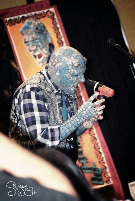 tattoo parlor gatlinburg the enigma paul lawrence sideshow preformer tennessee