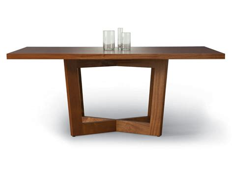 Square Contemporary Dining Table Contemporary Dining Table Walnut Rectangular Duette Altu With Contemporary Dining Table Walnut
