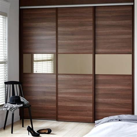 Diy Sliding Wardrobe by Sliding Wardrobe Doors Kits Bedroom Furniture Diy At B Q