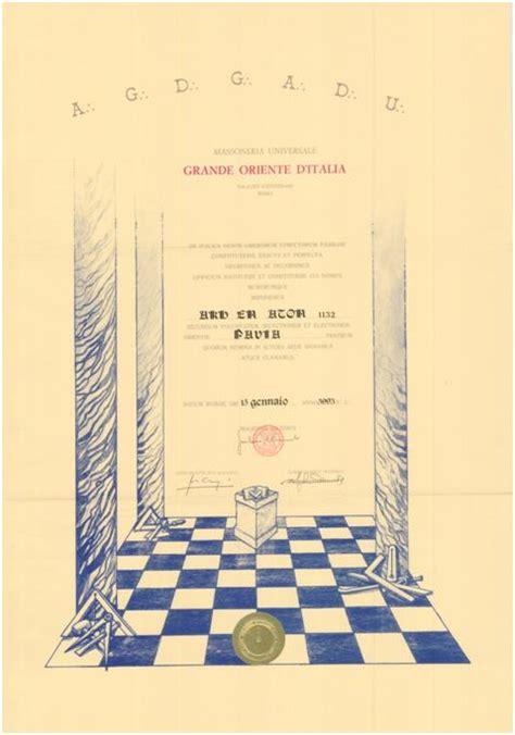 ufficio delle entrate pavia bolla di fondazione della loggia akh en aton n 1132 di