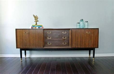 Credenza Tv Table vintage imported mcm mid century modern credenza buffet