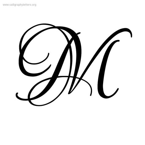 tattoo fonts m quarrel a z calligraphy lettering styles to print