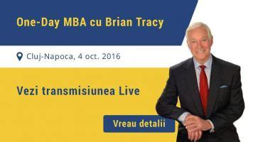 Cu 11 Month Mba by Brian Tracy Vine Din Nou In Romania Si Sotie
