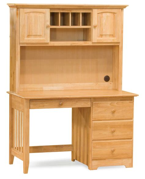 Unfinished Furniture Hutch Unfinished Real Wood Furniture For Classic Office Office