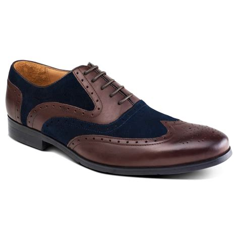 azor shoes miller zm3748 s brown blue shoes free