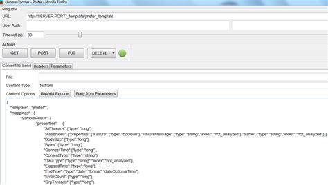 Workaholic Graphs For Jmeter Using Elasticsearch And Kibana Elasticsearch Get Template