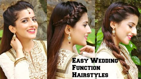 everyday indian hairstyles for medium hair simple hairstyles for everyday indian wedding 3 easy