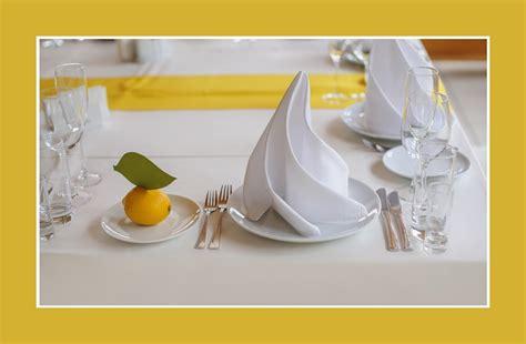 tischdeko gelb gelb tischdeko tips
