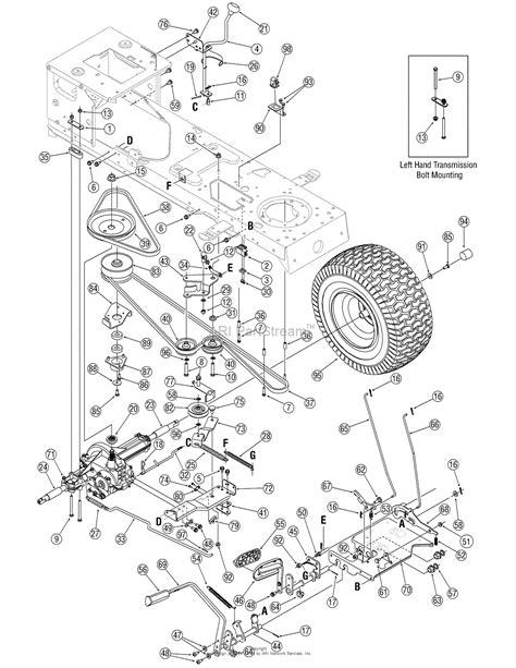 wiring diagram for troy bilt bronco 41 wiring