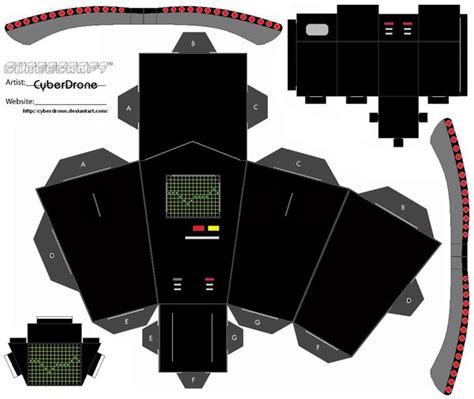 Ghostbusters Papercraft - cubee pke meter by cyberdrone on deviantart