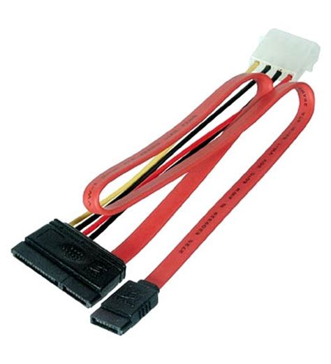 Murah Kabel Sata Kabel Data Sata sata kabel 500mm s ata data strom auf 1x 5 25 pc netzteile adapter pc netzteile