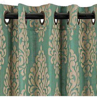 car window curtains online shopping india d decor window curtain strea teal poly jacquard 4 ft 7