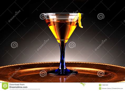 whiskey cocktail photography whiskey cocktail on gold platter stock photo image 10867020