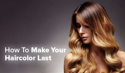 How To Make Hair Color Last by How To Make Your Haircolor Last Rosy Salon Software