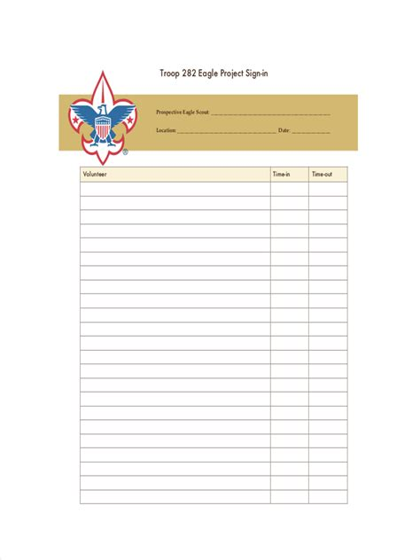 Best 25 Sign In Sheet 100 Guest And Visitor Sign In Sheet Scouts Cub Scouts