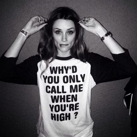 Tshirt Arctic Monkey Black arielle vandenberg why d you only call me when you re