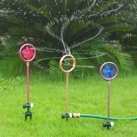 decorative garden sprinklers