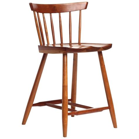 Cherry Stools by Cherry Wood Stool By George Nakashima For Sale At 1stdibs
