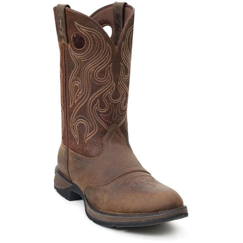 western boots for s durango 174 12 quot rebel saddle boots 219853 cowboy